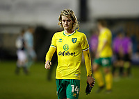 2nd February 2021; The Den, Bermondsey, London, England; English Championship Football, Millwall Football Club versus Norwich City; Todd Cantwell of Norwich City walking off the pitch towards the away tunnel after the final whistle in disappointment