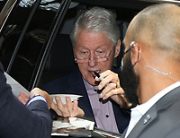 NEW YORK, NY - June 08: Bill Clinton seen exiting Live With Kelly And Ryan in New York City on June 08 , 2021. <br /> CAP/MPI/RW<br /> ©RW/MPI/Capital Pictures