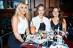 Enjoying the evening in the Grand Hotel on Thursday, l to r: Aiden Stack, Margaret Costello and Ellen Gercik.