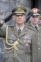 - Italian Army,  senior officer during a military ceremony....- Esercito Italiano, alto ufficiale durante una cerimonia militare....