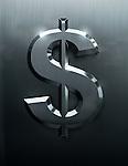 Illustrative image of dollar sign