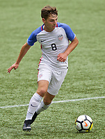 Portland, OR - Saturday August 12, 2017: Blaine Ferri during friendly match between the USMNT U17's and Chile u17's at Providence Park in Portland, OR.