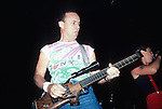 Ronnie Montrose with his Rifle Guitar. 1986