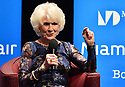 """MIAMI, FL - FEBRUARY 06: Radio host/author Diane Rehm in conversation with Dr. Cristina Pozo-Kaderman about Diane Rehm's new book """"When My Time Comes"""" Presented in collaboration with Miami Book Fair and Books and Books at Miami Dade College-Wolfson Auditorium on February 6, 2020 in Miami, Florida.   ( Photo by Johnny Louis / jlnphotography.com )"""