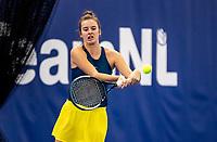 Amstelveen, Netherlands, 14  December, 2020, National Tennis Center, NTC, NK Indoor, National  Indoor Tennis Championships, Qualifying:  Isabelle Haverlag (NED) <br /> Photo: Henk Koster/tennisimages.com