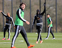 Pictured: Marvin Emnes Thursday 25 February<br />