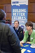 Metropolitan Police information stall at Jobs Fair, Brixton Town Hall