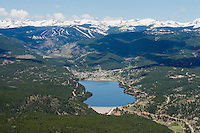 Nederland, Colorado with Eldora ski and Lake Barker. May 2014. 84253