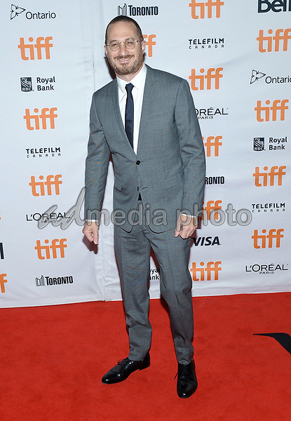 "10 September 2017 - Toronto, Ontario Canada - Darren Aronofsky. 2017 Toronto International Film Festival - ""mother!"" Premiere held at TIFF Bell Lightbox. Photo Credit: Brent Perniac/AdMedia"