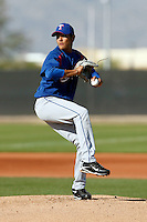Martin Perez  - Texas Rangers - 2009 spring training.Photo by:  Bill Mitchell/Four Seam Images