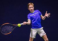 Hilversum, Netherlands, December 2, 2018, Winter Youth Circuit Masters, Thijs Boogaard (NED)<br /> Photo: Tennisimages/Henk Koster