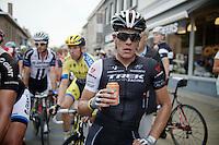 Jasper Stuyven (BEL/Trek Factory Racing) post-race<br /> <br /> stage 1<br /> Euro Metropole Tour 2014 (former Franco-Belge)
