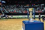 17 April 2015: GUERDAT, Steve on Albfuehren's Paille after winning the Longines FEI World Cup™ Jumping Final II