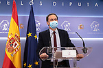 The spokesperson of Ciudadanos (Cs) Parliamentary Group , Edmundo Bal, in press conference in the Congress of Deputies . April 6, 2021. (ALTERPHOTOS/Ciudadanos/Pool)
