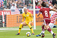 Houston, TX - Sunday April 08, 2018: Jane Campbell during an International Friendly soccer match between the USWNT and Mexico at BBVA Compass Stadium.