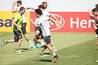 Leroy Sane beim Training - Training der Deutschen Nationalmannschaft zur EM Vorbereitung in Ascona, Schweiz