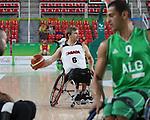 Bo Hedges, Rio 2016 - Wheelchair Basketball // Basketball en fauteuil roulant.<br /> Canada vs. Algeria in men's Wheelchair Basketball // Le Canada contre l'Algérie en basketball en fauteuil roulant masculin . 14/09/2016.