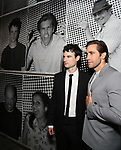 """Tom Sturridge and Jake Gyllenhaal attend the Broadway Opening Night performance of """"Sea Wall / A Life"""" at the Hudson Theatre on August 08, 2019 in New York City."""
