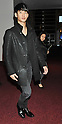 Korean actor Kim Soo hyun arrives at Tokyo International Airport
