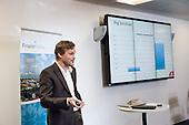 Kristjan Lepik.  Disruptive Technology Financial Services conference, Level39, Canary Wharf, London.