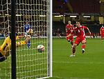 Jason Koumas  watches his penalty saved. Wales v Azerbaijan.Group 4, 2010 World Cup Qualifier. © Ian Cook IJC Photography iancook@ijcphotography.co.uk www.ijcphotography.co.uk
