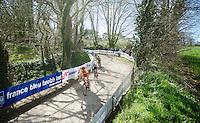 Last gravel section of the race<br /> <br /> 33th Tro Bro Léon 2016