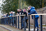 The terrace at Watnall road. Hucknall Town v Heanor Town, 17th October 2020, at the Watnall Road Ground, East Midlands Counties League. Photo by Paul Thompson.