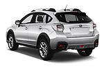 Car pictures of rear three quarter view of a 2017 Subaru XV Premium 5 Door SUV angular rear