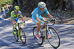 Miguel Angel Lopez Moreno (COL) Astana makes a break for it during Stage 6 of the 2015 Presidential Tour of Turkey running 184km from Denizli to Selcuk. 30th April 2015.<br /> Photo: Tour of Turkey/Mario Stiehl/www.newsfile.ie