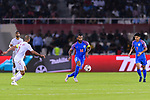 Pronay Halder of India (C) in action during the AFC Asian Cup UAE 2019 Group A match between India (IND) and Bahrain (BHR) at Sharjah Stadium on 14 January 2019 in Sharjah, United Arab Emirates. Photo by Marcio Rodrigo Machado / Power Sport Images