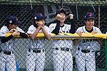 Japanese players celebrating during the BFA Women's Baseball Asian Cup match between Japan and Hong Kong at Sai Tso Wan Recreation Ground on September 5, 2017 in Hong Kong. Photo by Marcio Rodrigo Machado / Power Sport Images
