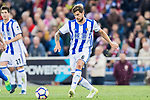 Inigo Martinez Berridi of Real Sociedad in action during their La Liga match between Atletico de Madrid vs Real Sociedad at the Vicente Calderon Stadium on 04 April 2017 in Madrid, Spain. Photo by Diego Gonzalez Souto / Power Sport Images