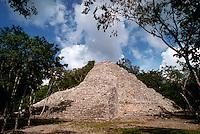 Ancient Mayan ruins. Coba Quintana Roo, Mexico.