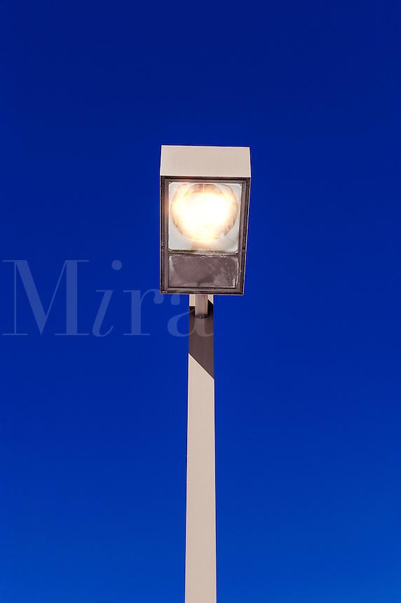Commercial street light.