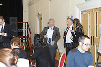 14.11.2016 - Ebbw Vale, Gwent, South wales. The Welsh Affairs Committee Brexit meeting at the Ebbw Vale Institute. Glyn Davies (L) Conservative MP for Mongomeryshire and Mark Williams Liberal Democrat MP for Ceredigion arrive at the meeting. <br /> <br /> <br /> Jeff Thomas Photography -  www.jaypics.photoshelter.com - <br /> e-mail swansea1001@hotmail.co.uk -<br /> Mob: 07837 386244 -