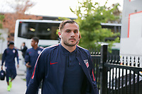 TORONTO, ON - OCTOBER 15: Jordan Morris #11 of the United States as he enters the stadium during a game between Canada and USMNT at BMO Field on October 15, 2019 in Toronto, Canada.
