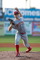 Pitcher Jesse Biddle #54 of the Clearwater Threshers during the game against the Daytona Cubs at Jackie Robinson Ballpark on May 1, 2012 in Daytona Beach, Florida. (Scott Jontes/Four Seam Images)