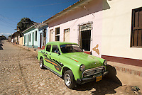 Oldtimer in Trinidad, Provinz Sancti Spiritus, Cuba