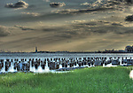 New York Harbor from Brooklyn Bridge Park, HDR