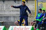 Waldhofs Trainer Patrick Glöckner / Gloeckner  beim Spiel in der 3. Liga, SV Waldhof Mannheim - FSV Zwickau.<br /> <br /> Foto © PIX-Sportfotos *** Foto ist honorarpflichtig! *** Auf Anfrage in hoeherer Qualitaet/Aufloesung. Belegexemplar erbeten. Veroeffentlichung ausschliesslich fuer journalistisch-publizistische Zwecke. For editorial use only. DFL regulations prohibit any use of photographs as image sequences and/or quasi-video.