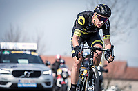 Niki Terpstra (NED/Direct Energie) in the front group.<br /> <br /> <br /> 82nd Gent – Wevelgem in Flanders Fields 2019 (1.UWT)<br /> Deinze – Wevelgem: 251,5km<br /> ©kramon