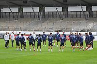 Ansprache Bundestrainer Hansi Flick (Deutschland Germany) - Stuttgart 31.08.2021: Training der Deutschen Nationalmannschaft, Gazi Stadion Stuttgart