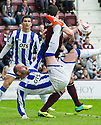 Killie's Kris Boyd tries an overhead kick.