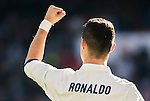 Cristiano Ronaldo of Real Madrid celebrates during their La Liga match between Real Madrid and Granada CF at the Santiago Bernabeu Stadium on 07 January 2017 in Madrid, Spain. Photo by Diego Gonzalez Souto / Power Sport Images