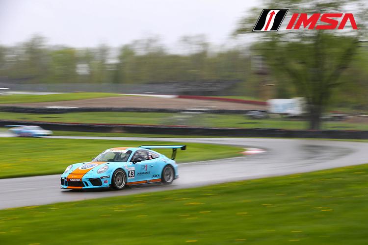 #43 JDX Racing, Porsche 991 / 2017, GT3P: Jeff Kingsley