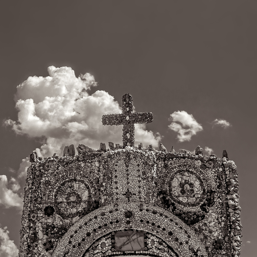 THE GROTO -- A shell and rock-encrusted religious shrine located in Dickeyville, Wisconsin, USA. #michaelknapstein #midwest #midwestmemoir #blackandwhite #B&W #monochrome #motherfstop #wisconsin  #bwphotography #myfeatureshoot  #fineartphotography #americanmidwest #squaremag #lensculture #mifa #moscowfotoawards #moscowinternationalfotoawards #rps #royalphotographicsociety #CriticalMass #CriticalMassTop200 #photolucida #contemporaryphotography  #portfolioshowcase11 #thegalaawards #thepolluxawards #flakphoto #ipe160 #grainedephotographe  #galleryofwisconsinart