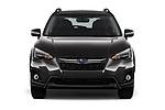 Car photography straight front view of a 2018 Subaru Crosstrek Limited CVT 5 Door SUV