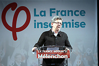 JEAN LUC MELENCHON ELU DANS LA 4 EME CIRCONSCRIPTION DES BOUCHES DU RHONE A MARSEILLE . FRANCE , LE 18/06/2017