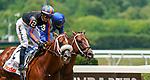 June 5, 2021: Drain the Clock, #2, ridden by jockey Jose Ortiz, wins the Woody Stephens Stakes on Belmont Stakes Day at the Belmont Stakes Festival at Belmont Park in Elmont, New York. Dan Heary/Eclipse Sportswire/CSM
