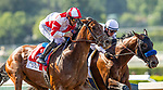 MAY 31, 2021:  Country Grammar (right) with Flavien Prat defeats Royal Ship and Mike Smith to win the Hollywood Gold Cup Stakes at Santa Anita Park in Arcadia, California on May 31, 2021. EversEclipse Sportswire/CSM